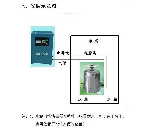 内置式水箱消毒器厂家